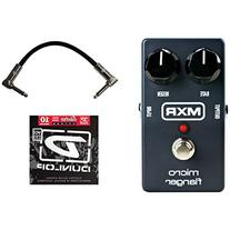 MXR M152 Micro Flanger Pedal w/1 Set of Strings and Patch