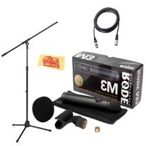 Rode M3 Versatile End-Address Condenser Microphone Bundle