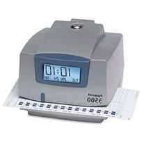 Pyramid M3500 Electronic Document Time Recorder - Card Punch