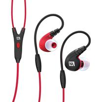MEE Audio M7P Secure-Fit Sports In-Ear Headphones with Mic,