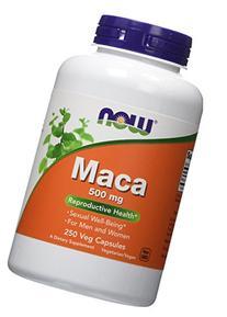 Now Foods Maca, 250 Caps 500Mg