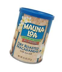 Mauna Loa Macadamias, Dry Roasted with Sea Salt, 4.5 Ounce