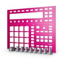 Native Instruments Machine MK2 Custom Kit, Pink Champagne