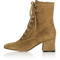 Gianvito Rossi Women's Mackay Suede Ankle Boots