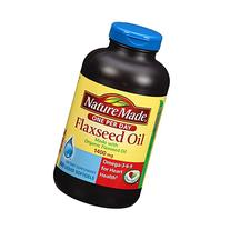 Nature Made Organic Flaxseed Oil, Omega-3-6-9 for Heart