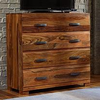 "Hillsdale Furniture 1406-790 Madera 44"" Media Chest with 4"