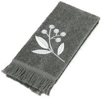 Avanti Linens Madison Fingertip Towel, Granite