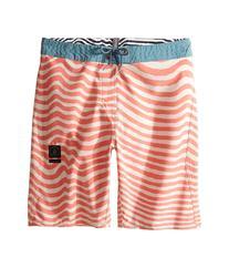 Volcom Kids - Mag Vibes Slinger Boardshorts   Boy's Swimwear