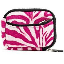 Pink Zebra VanGoddy Mini Glove Sleeve Pouch Case for Point