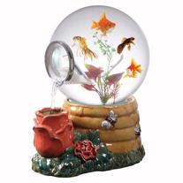 Aquatica Gallery Magic Globe Honey Rose Aquarium, 5-Gallon