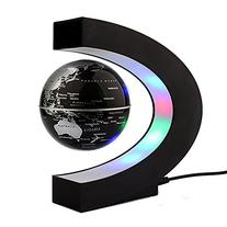 Toponechoice Maglev Floating Rotating Globe Color LED Lights