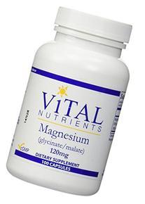 Magnesium 120mg 100 Capsules - Vital Nutrients