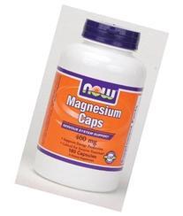Now Foods Magnesium caps, 180 caps / 400 mg