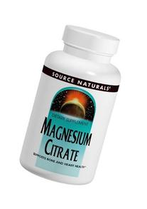 Source Naturals Magnesium Citrate 133mg, Supports Bone and