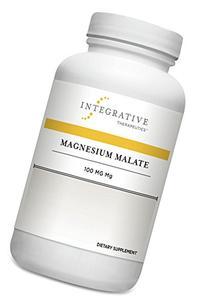Integrative Therapeutics - Magnesium Malate - 100 mg of