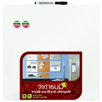 Quartet Magnetic Dry-Erase Board Tile, 14 x 14 Inches,