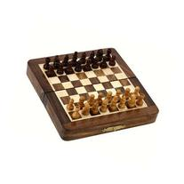 Magnetic Folding Chess Board Travel Game Set Dimesion 7