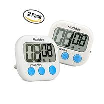 Mudder Magnetic Digital Kitchen Timer with Large LCD Display