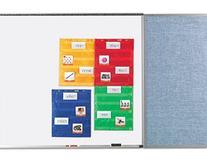 Magnetic Pocket Chart Squares Set of 4 Multi