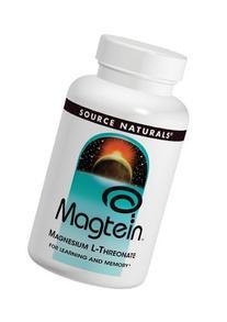 Magtein Source Naturals, Inc. 180 Caps
