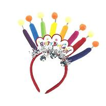 Amscan Majestic Happy Birthday Candle Headband Party