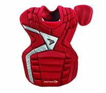 Easton MAKO Chest Protector, Red, Adult