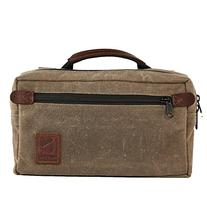 Man-Bag, Dammit - Small Mens Bag in Waxed Canvas and