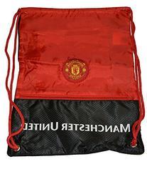 Manchester United Gym Sack Bag Drawstring Backpack Cinch Bag