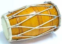 SG Musical Special Dholak/Dholki, Mango Wood, Rope/Bolt