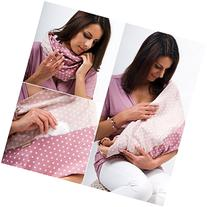 "Mania Breastfeeding scarf ""Rosalie"" with small pocket for"