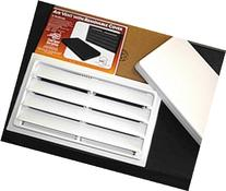 Crawl Space Manual Air Vent with Removable Cover and Vermin
