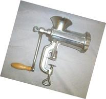 New Rand Manual Meat Grinder No. 10 Sausage Stuffer with 3