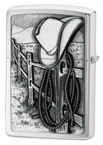 Zippo Manufacturing 24879 Resting Cowboy Lighter