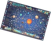 Great American Puzzle Factory Map Of The Solar System 600