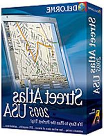 Delorme Mapping Street Atlas USA 2005