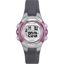 Marathon by Timex Women's Digital Mid-Size Watch, Gray Resin