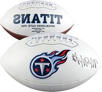 Marcus Mariota Tennessee Titans Autographed White Panel