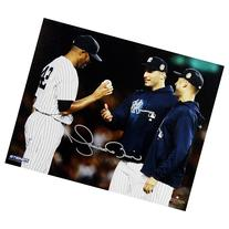 Steiner Sports Mariano Rivera Mound Hand Off To Pettitte and