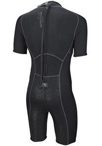 Phantom Aquatics Men's Marine Shorty Wetsuit, Black/Blue,