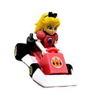 Mario Kart DS Gashapon 1.5 Inch Pull Back Racer Princess