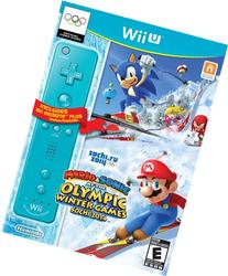 Mario & Sonic Sochi 2014 Olympic Winter Games with Blue Wii