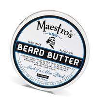 Maestro's Classic Mark of a Man Beard Butter, 6 Ounce