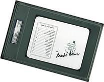 Mark O'Meara Authentic Signed Masters Scorecard Autographed