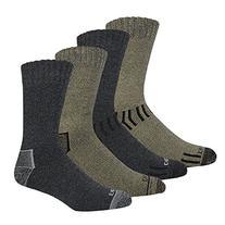 Dickies Men's All Season Marled Moisture Control Crew Socks