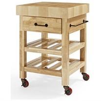 Marston Butcher Block Kitchen Cart