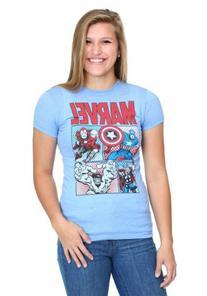 Women's Marvel Group T-Shirt