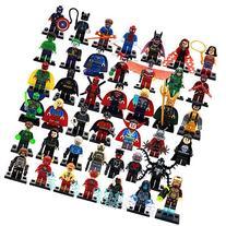 39 Piece Marvel Super Heroes Hulk Flash Deadpool Loki Toys