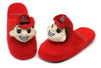 NCAA Nebraska Cornhuskers Mascot Slippers