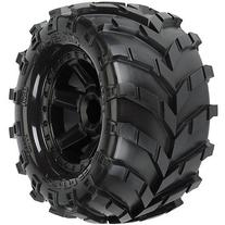 ProLine 119212 All Terrain Tires Mounted On Desperado Wheels