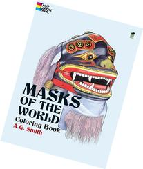 Masks of the World Coloring Book
